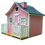 domek dla dzieci z drewna