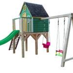 ogrodowy domek dla dzieci