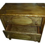 szafka z drewna